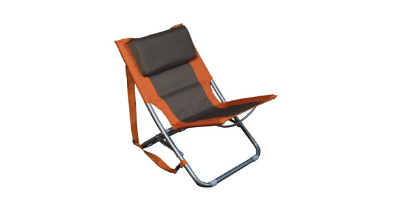 Relags Travelchair Beach Campingstol orange/brun